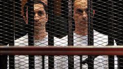 """Égypte: Les fils de l'ancien président Hosni Moubarak, arrêtés pour """"manipulation"""