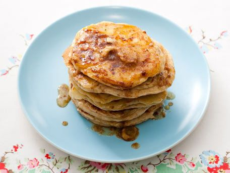 """<strong>Get the <a href=""""http://www.huffingtonpost.com/2011/10/27/banana-walnut-pancakes-wi_n_1057448.html"""" target=""""_blank"""">B"""