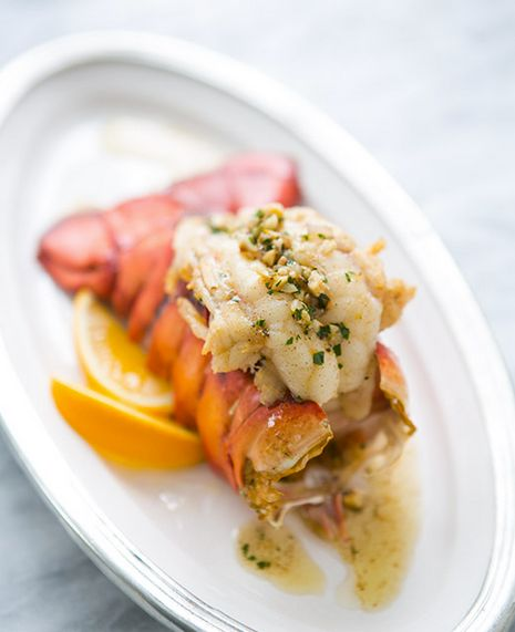 """<strong>Get the <a href=""""http://www.simplyrecipes.com/recipes/broiled_lobster_tail_with_browned_butter_sauce/"""" target=""""_blank"""