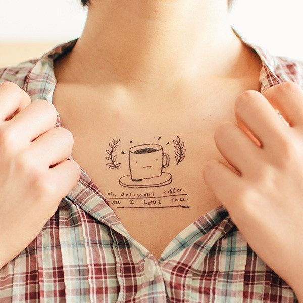 """<strong><a href=""""http://tattly.com/products/oh-delicious-coffee"""" target=""""_blank"""">Oh, Delicious Coffee Tattoo</a> (Set of 2),"""