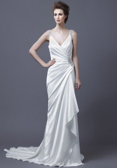 Grecian Goddess Wedding Dresses