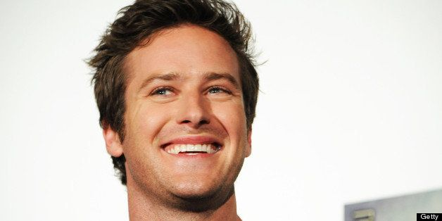 TOKYO, JAPAN - MAY 13:  Actor Armie Hammer attends 'The Lone Ranger' press conference on May 13, 2013 in Tokyo, Japan.  (Photo by Jun Sato/WireImage)
