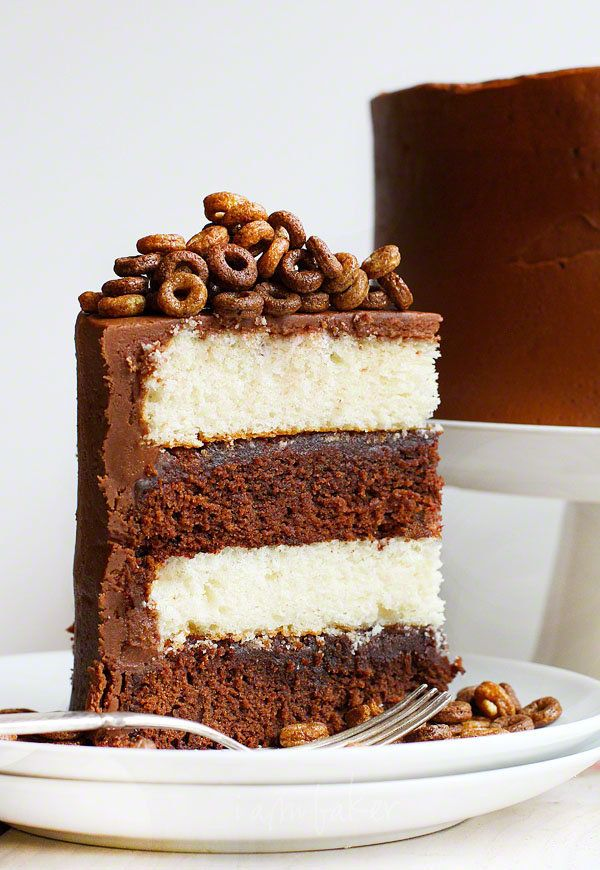 """<strong>Get the <a href=""""http://iambaker.net/cheerios-cake/"""" target=""""_blank"""">Cheerios Cake</a> recipe from I Am Baker</strong"""