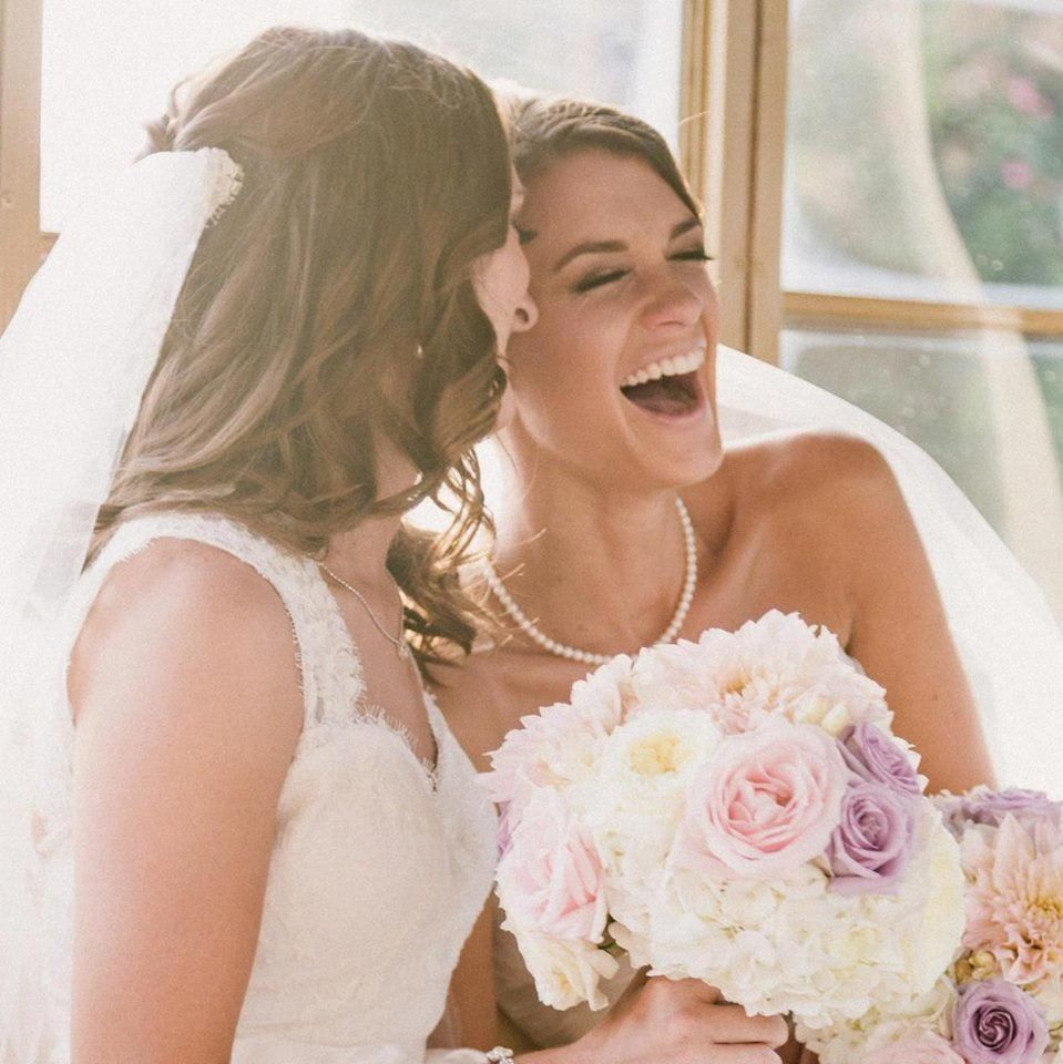 """""""My daughter Felicity married her partner Alanna Sept 21, 2012... Now they can go to the courthouse in San Diego and have the"""