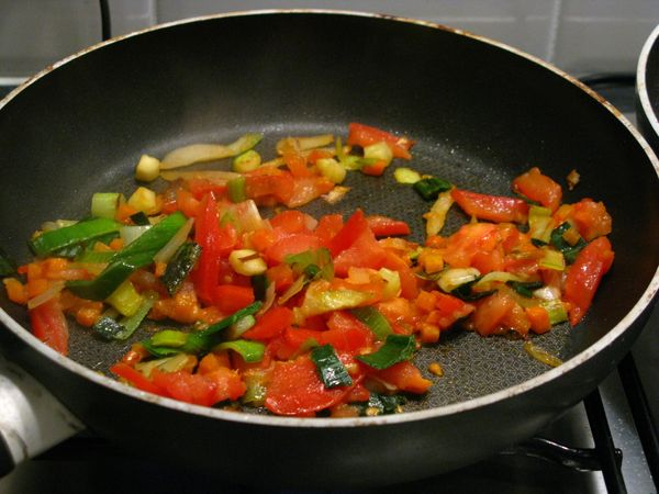 """""""Cook a little extra at your barbecue. Zucchini, eggplant, onion, bell peppers, mushrooms, cherry tomatoes -- grill up a tray"""
