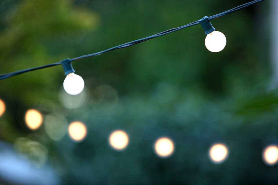 Not only are these easy to install, but ambient lighting is a great way to set the perfect mood for an outdoor party. The key