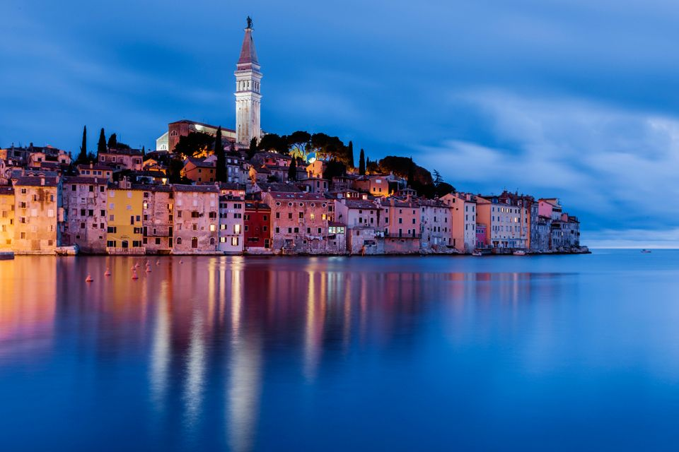 A historic port on the western coast of the Istrian Peninsula