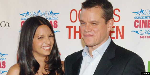 Matt Damon's Wife: Act...