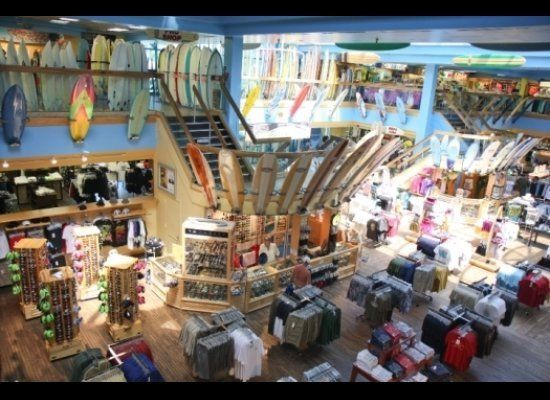 The Ron Jon Surf Shop in Cocoa Beach occupies two-plus acres and is open 24 hours a day for to satisfy your surfing needs.