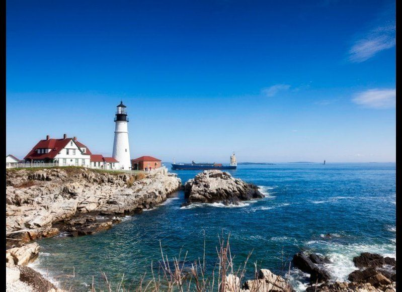 <strong>MAINE COAST (ROUTE 1)</strong> Maine  <strong>What you'll see</strong>: It's quintessential New England scenery al