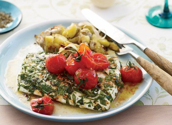 "<strong>Get the <a href=""http://www.huffingtonpost.com/2011/10/27/grilled-halibut-with-smas_n_1058448.html"" target=""_hplink"">"