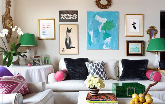 Hanging a gallery wall is a great and easy way to stay busy indoors.  The tools you'll need entirely depends on the kind of w