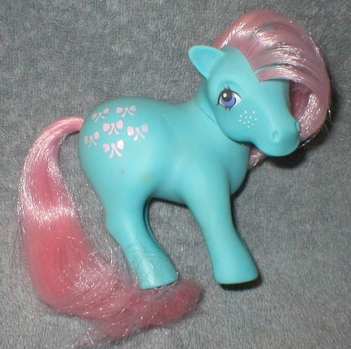 "<a href=""http://www.ebay.com/itm/Vintage-1980s-Hasbro-My-Little-Pony-Regular-Pony-Bow-Tie-/360698087592?pt=TV_Movie_Character"