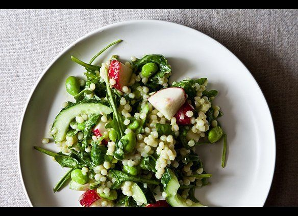"""<em><strong><a href=""""http://food52.com/recipes/17582-radish-cous-cous"""" target=""""_hplink"""">Get the recipe on Food52</a></strong>"""