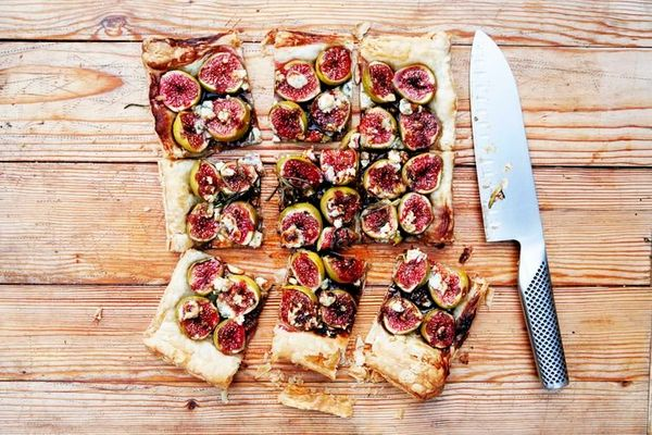"""<strong>Get the <a href=""""http://food52.com/recipes/24357-fig-and-blue-cheese-tart-with-honey-balsamic-and-rosemary"""" target=""""_"""