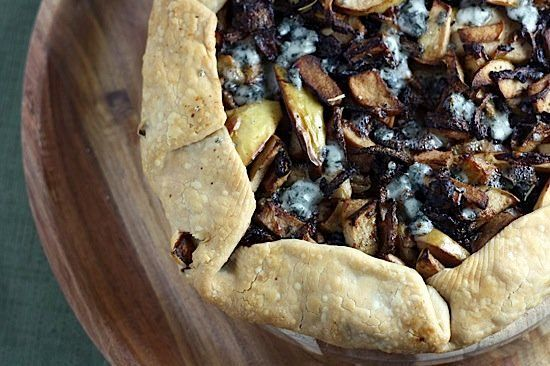 """<strong>Get the <a href=""""http://food52.com/recipes/9983-savory-apple-and-blue-cheese-tart"""" target=""""_blank"""">Savory Apple And B"""