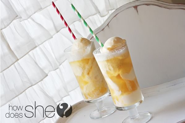 "<strong>Get the <a href=""http://www.howdoesshe.com/apple-pie-floats/"" target=""_blank"">Apple Pie Float Recipe</a> by www.howdo"