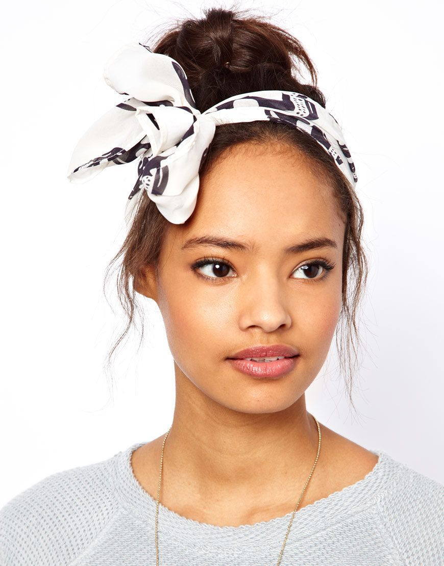 3 Ways To Tie A Head Scarf Explained In Gifs Huffpost Life