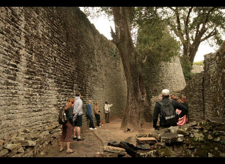 The monument of Great Zimbabwe is the most famous stone building in southern Africa. The ruins of this complex of massive sto