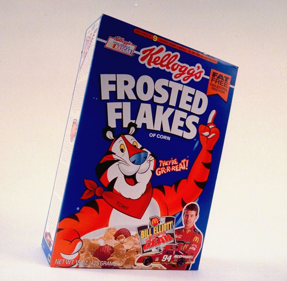Hey Tony! This Frosted Flakes mascot was the king of encouragement when it came to young sports players. And we still can't e