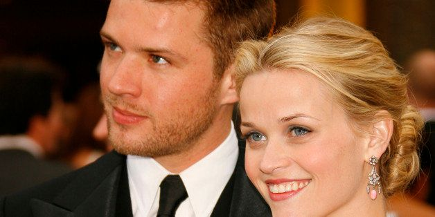 Ryan Phillippe and Reese Witherspoon, nominee Best Actress in a Leading Role for Walk the Line (Photo by Chris Polk/FilmMagic)