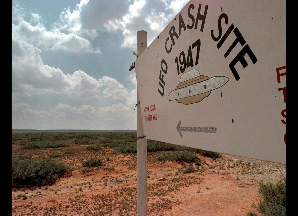 America's most infamous UFO case centers in Roswell, N.M. Some people claimed an alien spacecraft crashed there in 1947; the