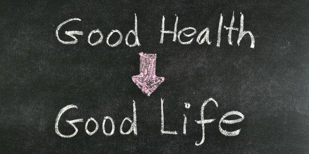 """""""good health and good life""""..."""