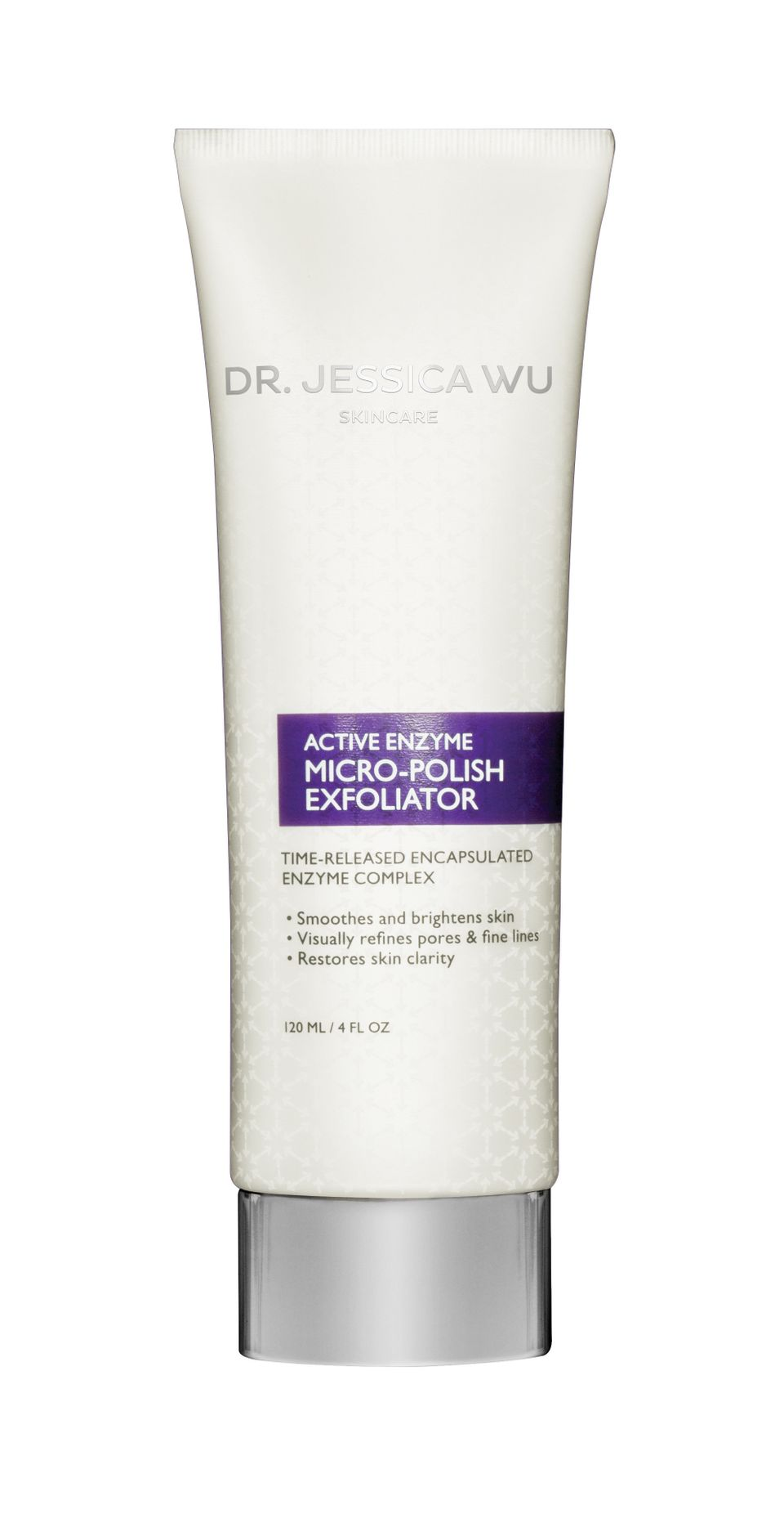 Dr. Jessica Wu Skincare Micro-Polish Exfoliator: Finely ground ivory palm seeds help to get rid of dead skin cells whilemango