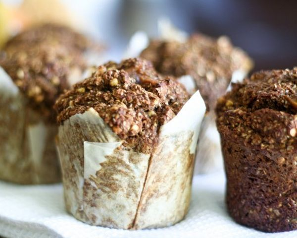 "<strong>Get the <a href=""http://thehealthyfoodie.com/fresh-pear-and-dried-figs-bran-muffins/"" target=""_blank"">Fresh Pear And"