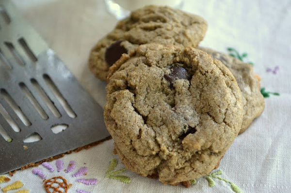 "<strong>Get the <a href=""http://theviewfromgreatisland.com/2012/09/buckwheat-chocolate-chip-cookies.html"" target=""_blank"">Buc"