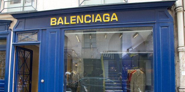PARIS, FRANCE - MAY 04: A general view of the 'BALENCIAGA' store on May 4, 2013 in Paris, France.  (Photo by Paul Hubble/FilmMagic)