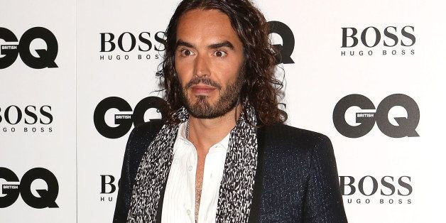 LONDON, ENGLAND - SEPTEMBER 03:  Russell Brand attends the GQ Men of the Year awards at The Royal Opera House on September 3, 2013 in London, England.  (Photo by Tim P. Whitby/Getty Images)