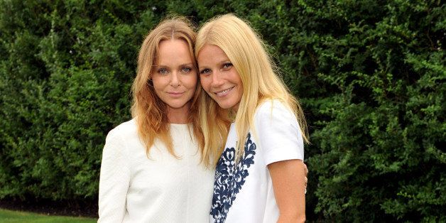 AMAGANSETT, NY - AUGUST 23:  (Exclusive Coverage; Editorial Use Only) Stella McCartney and Gwyneth Paltrow host an english garden party for Goop on August 23, 2013 in Amagansett, New York.  (Photo by Kevin Mazur/WireImage)