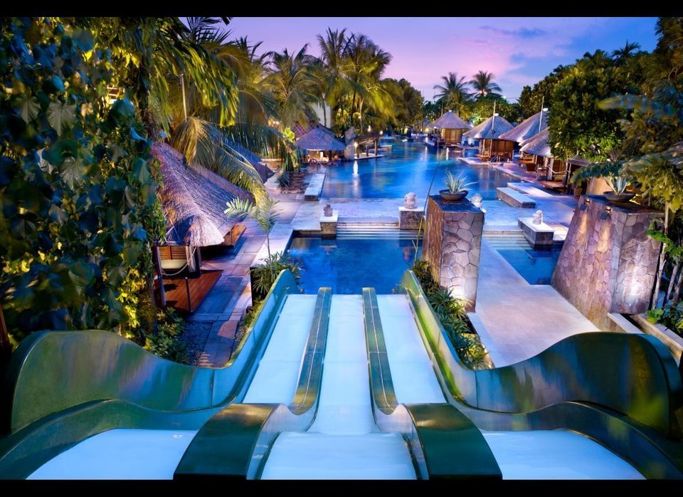 World S Coolest Hotel Water Slides Huffpost Life