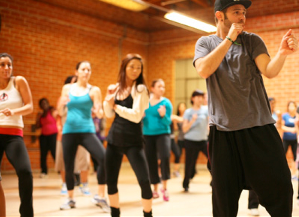 We've found a place where camaraderie and easy choreography combine, inspiring us to happily funk our way to fitness.  GROOV3