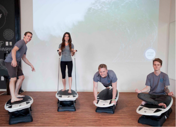 We're totally stoked about the new exercise studio City Surf Fitness. It's the newest toning trend to wash up in Dallas, and