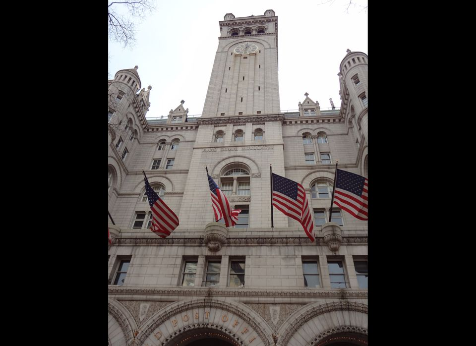 The Old Post Office is currently the headquarters for the National Endowment for the Arts, the National Endowment for the Hum