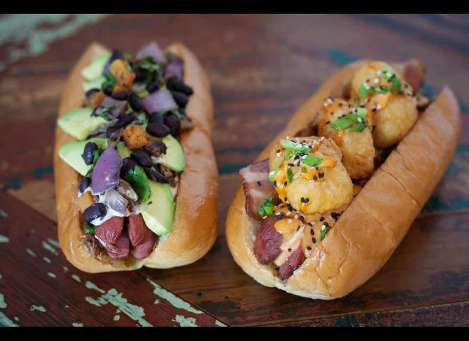 """<strong>See more of<a href=""""http://www.foodandwine.com/slideshows/americas-best-hot-dogs#!slide=11""""> America's Best Hot Dogs<"""