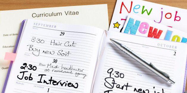 New job diary.