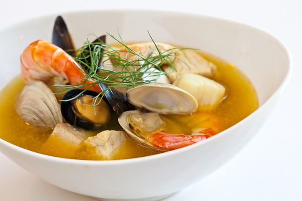 "<strong>Get the <a href=""http://www.steamykitchen.com/15777-bouillabaisse-recipe.html"" target=""_blank"">Bouillabaisse</a> reci"