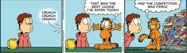 Garfield S Love For Food In Comic Strips Photos Huffpost Life
