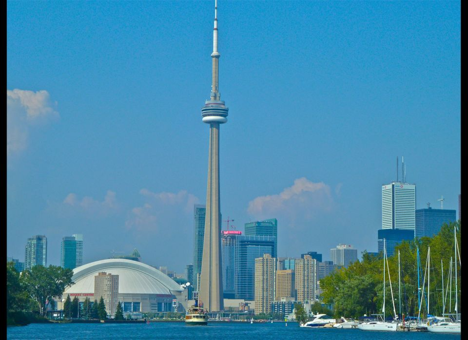 Downtown Toronto sits on Lake Ontario and is a tourist mecca. (Dwight Brown)