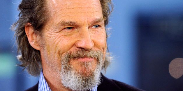 TODAY -- Airdate 12/15/2009 -- Pictured: Jeff Bridges appears on NBC News' 'Today' show  (Photo by Peter Kramer/NBC/NBCU Photo Bank via Getty Images)