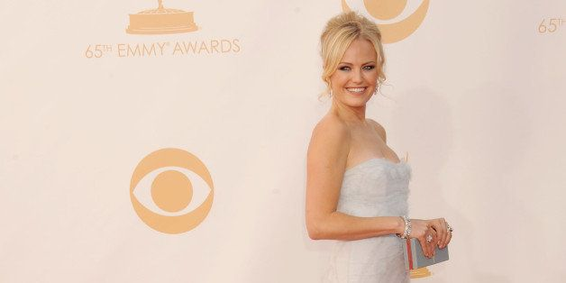 LOS ANGELES, CA - SEPTEMBER 22:  Actress Malin Akerman arrives at the 65th Annual Primetime Emmy Awards at Nokia Theatre L.A. Live on September 22, 2013 in Los Angeles, California.  (Photo by Gregg DeGuire/WireImage)