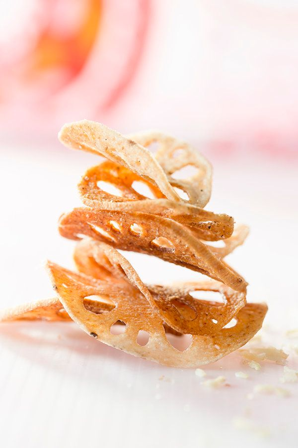 """<strong>Get the <a href=""""http://www.saltedandstyled.com/2013/03/20/spiced-lotus-root-chips/"""" target=""""_blank"""">Spiced Lotus Roo"""