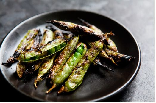 """<strong>Get the <a href=""""http://www.simplyrecipes.com/recipes/grilled_english_peas/"""" target=""""_blank"""">Grilled English Peas rec"""