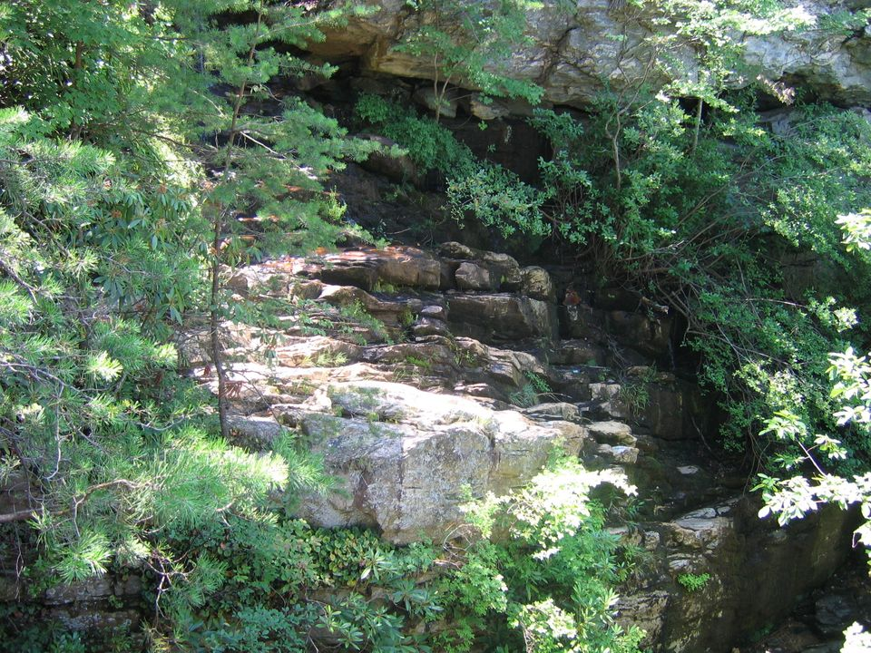 "Hanging Rock State Park in North Carolina, which <a href=""http://pocketrangerblog.com/5-state-parks-to-hide-out-in-if-theres-"