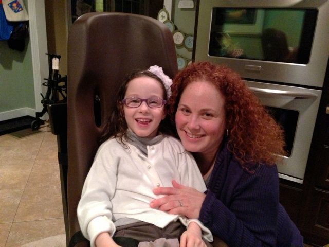 """""""My daughter has cerebral palsy. Despite the happiness she exudes, Maya openly shares her frustrations about her daily challe"""