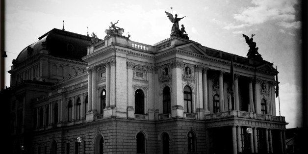 ZURICH, SWITZERLAND - SEPTEMBER 28:  (EDITORS NOTE: This image was processed using digital filters) A general view of the Zurich Opera House on September 28, 2013 in Zurich, Switzerland. Zurich is the capital of the canton of Zurich and is the largest city in Switzerland. Zurich is usually named as one of the city with the best quality of life in the world. The Zurich Film Festival is an annual film festival founded by Karl Spoerri, Nadja Schildknecht and Antoine Monot and takes place every year at the end of September.  (Photo by Vittorio Zunino Celotto/Getty Images)