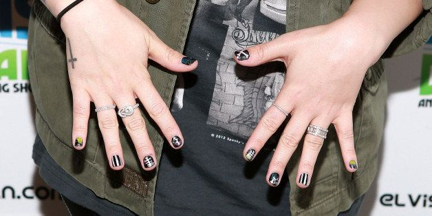 Demi Lovato S Nail Polish Line Has Us Revisiting Her Best Manis Photos